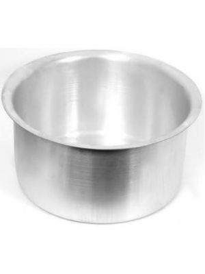 Aluminium Patilla / Pot with Lid ( Set of 3 )